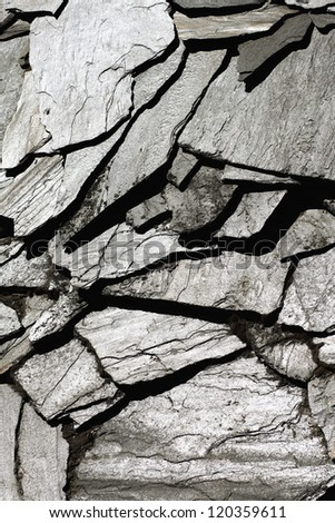 Image of stone rock texture wall. background closeup.Texture for desighner. - stock photo