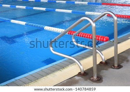 Image of swimming pool.  - stock photo