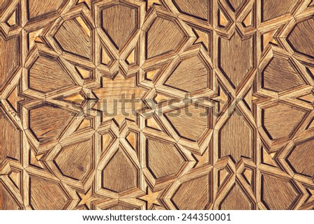 Image of traditional turkish pattern.  - stock photo