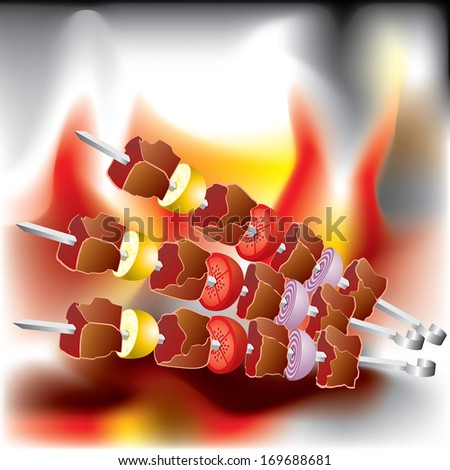 image on the Barbecue theme