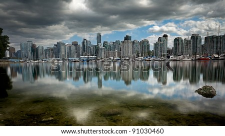 Image taken from Stanley Park - stock photo