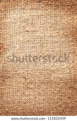 Image texture of burlap. - stock photo