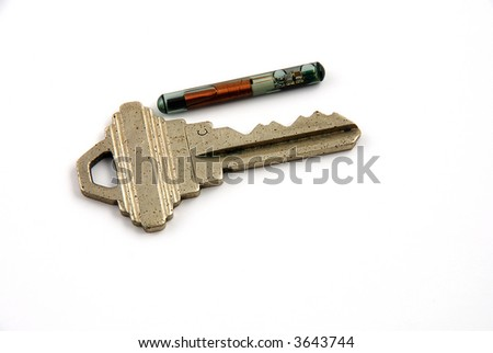 Images depicting the use of RFID for access control - stock photo