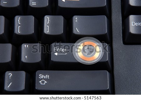 Images depicting the use of rfid to grant access to a computer - stock photo