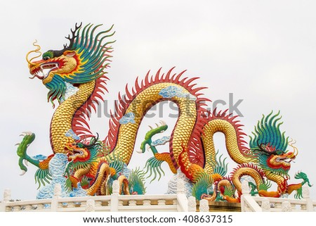 Images dragon asian isolated.