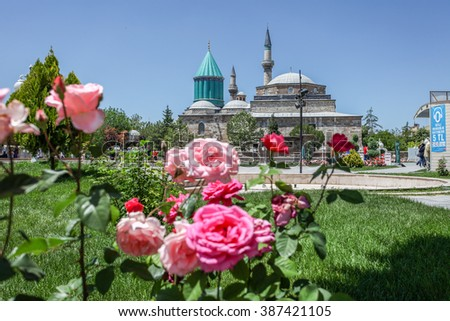 Images from the Mevlana Museum in Konya