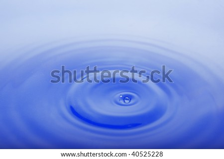 Images of the blue drop