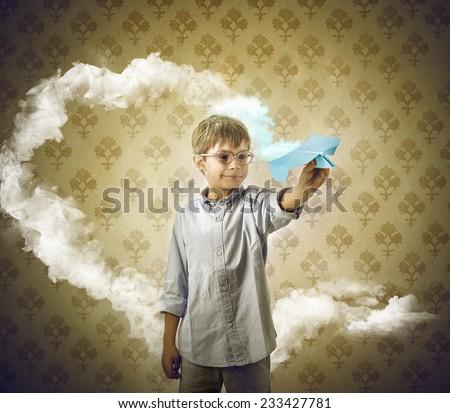 Imagination  - stock photo
