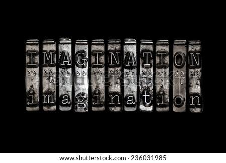 Imagination concept - stock photo