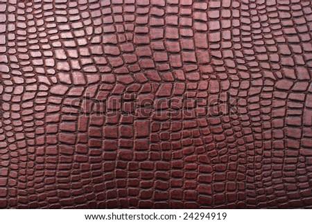 imitation crocodile leather texture - stock photo