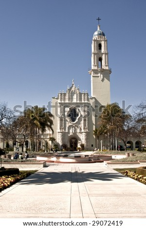 Immaculate Conception Church at the University of San Diego