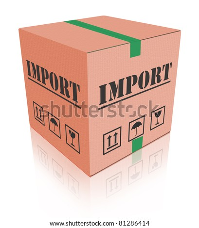 import shipping international trade package shipment global importation - stock photo