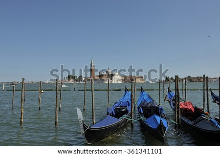Impressions romantic city of Venice, Italy