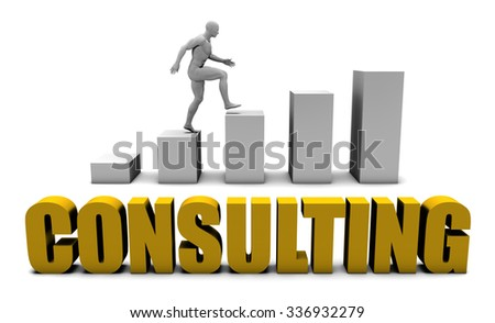 Improve Your Consulting  or Business Process as Concept - stock photo