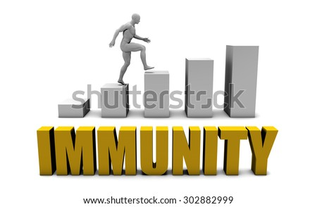 Improve Your Immunity  or Business Process as Concept - stock photo