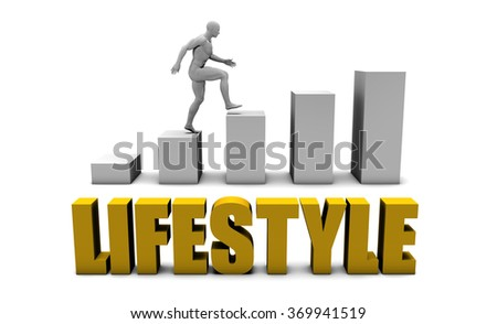 Improve Your Lifestyle  or Business Process as Concept - stock photo