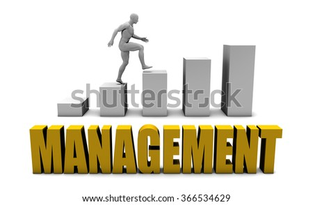 Improve Your Management  or Business Process as Concept - stock photo