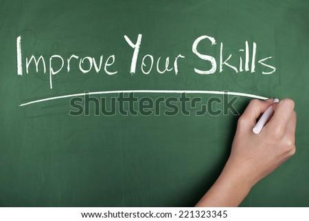 Improve Your Skills - stock photo