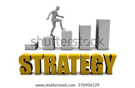 Improve Your Strategy  or Business Process as Concept - stock photo