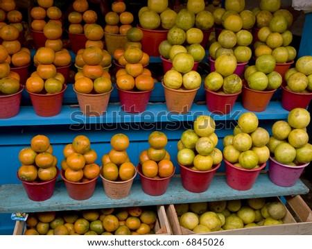 in a Market in Chiapas Mexico - stock photo