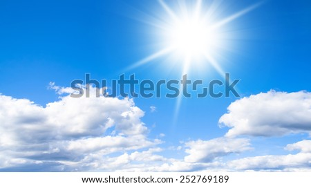 in Brightest Paradise Divine Beauty  - stock photo