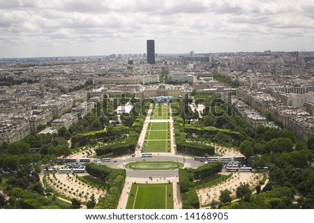 in city called paris - stock photo