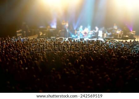 in concert - stock photo