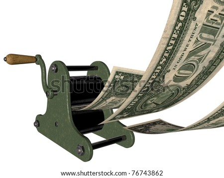 In God (or money) we trust - making money on the hand printing press
