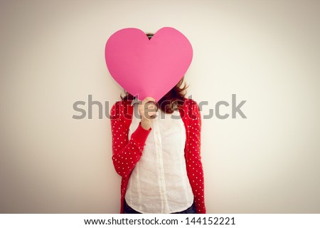 In Love - stock photo