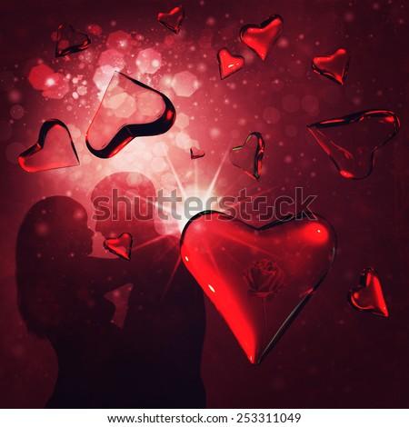 In Love - stock photo