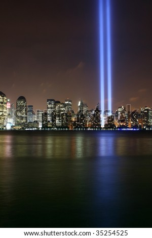 In memory of victims in 911
