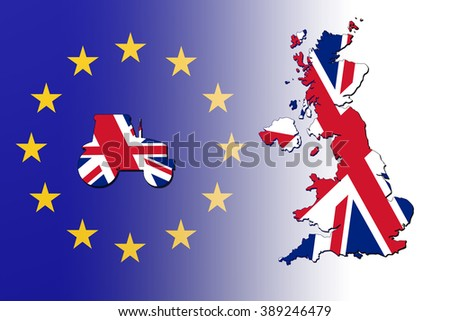 In or out of the European Union referendum in Great Britain