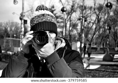 In search of correct photo - stock photo