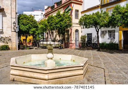 in the Andalusian capital, Sevilla in Spain