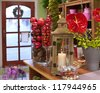 in the florist shop - stock photo