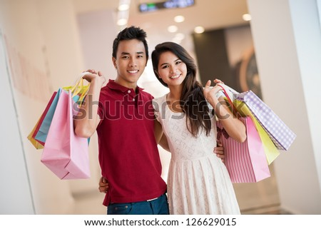 In the market - stock photo