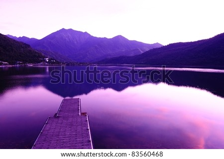 IN THE MORNING - stock photo