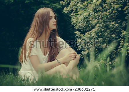 In the Nature - stock photo
