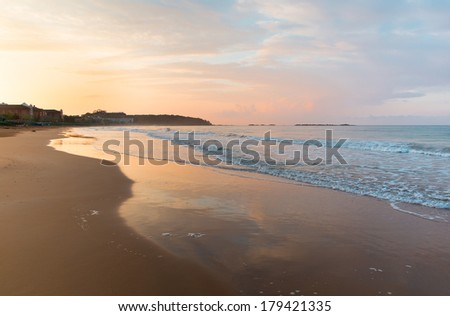 incekum beach, Alanya - stock photo