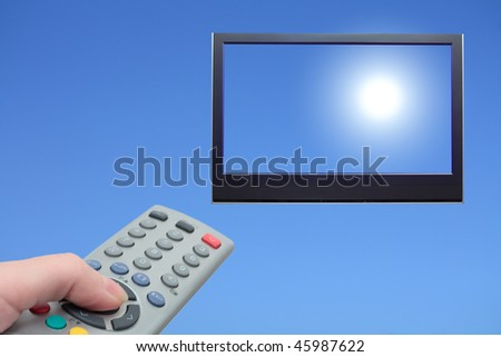 include the sun from the control panel