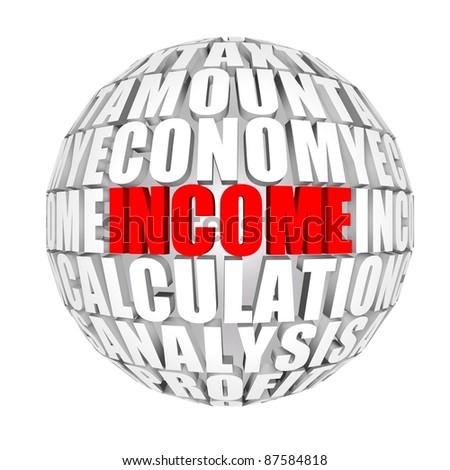 income - stock photo
