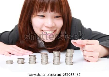 Increase of profits - stock photo