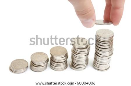 Increasing profit - stock photo