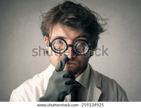 Indelicate manners  - stock photo