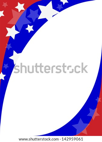 Independence day  , frame. - stock photo