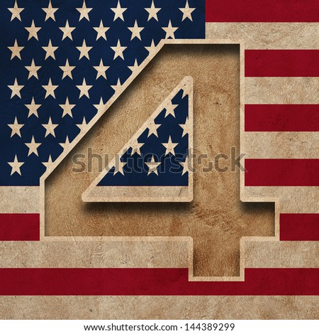 Independence Day, 4th of July. America National Day - stock photo