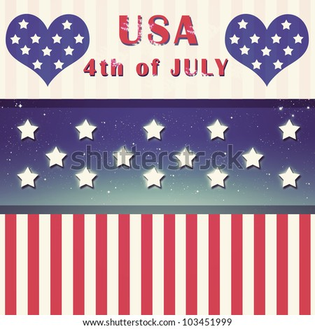 Independent day United States of America