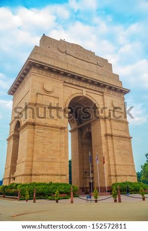India gate - stock photo