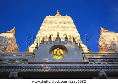 India's style Stupa in thailand - stock photo