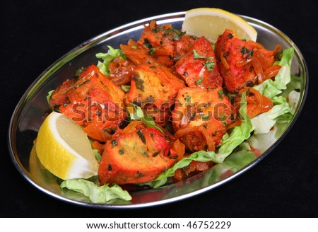 Indian Chicken Tikka - stock photo
